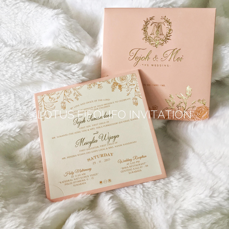 Lotus fifolifo invitation wedding invitations in surabaya lotus fifolifo invitation wedding invitations in surabaya bridestory stopboris Gallery