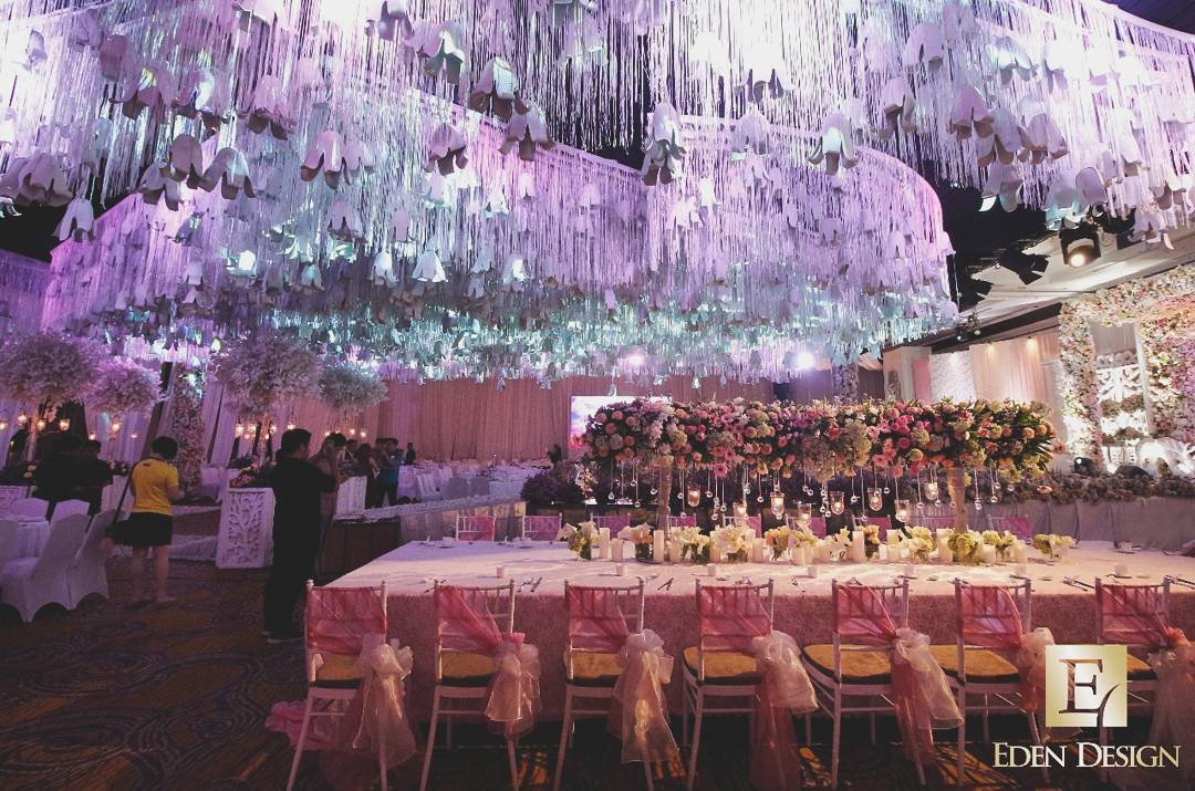Eden design wedding decoration lighting in surabaya bridestory junglespirit Gallery