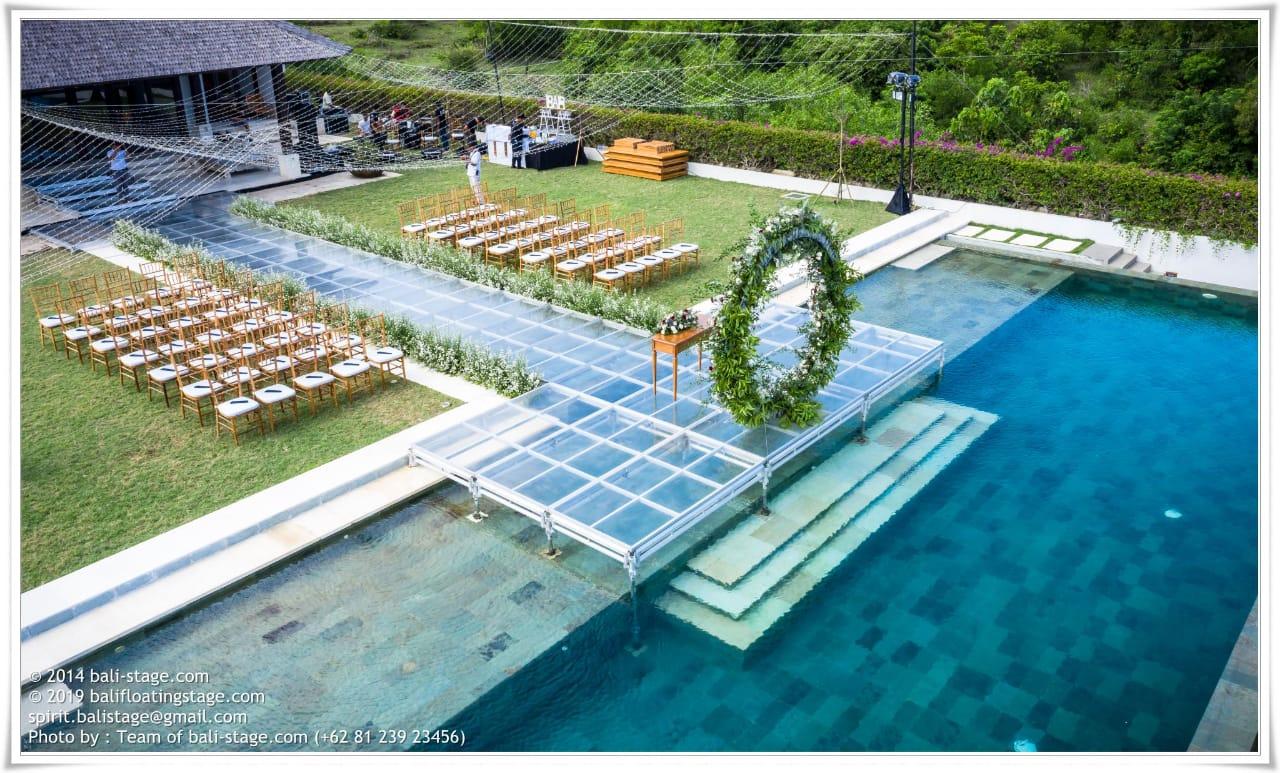 Wedding Set Up By The Surga Villa Estate Bridestory Com