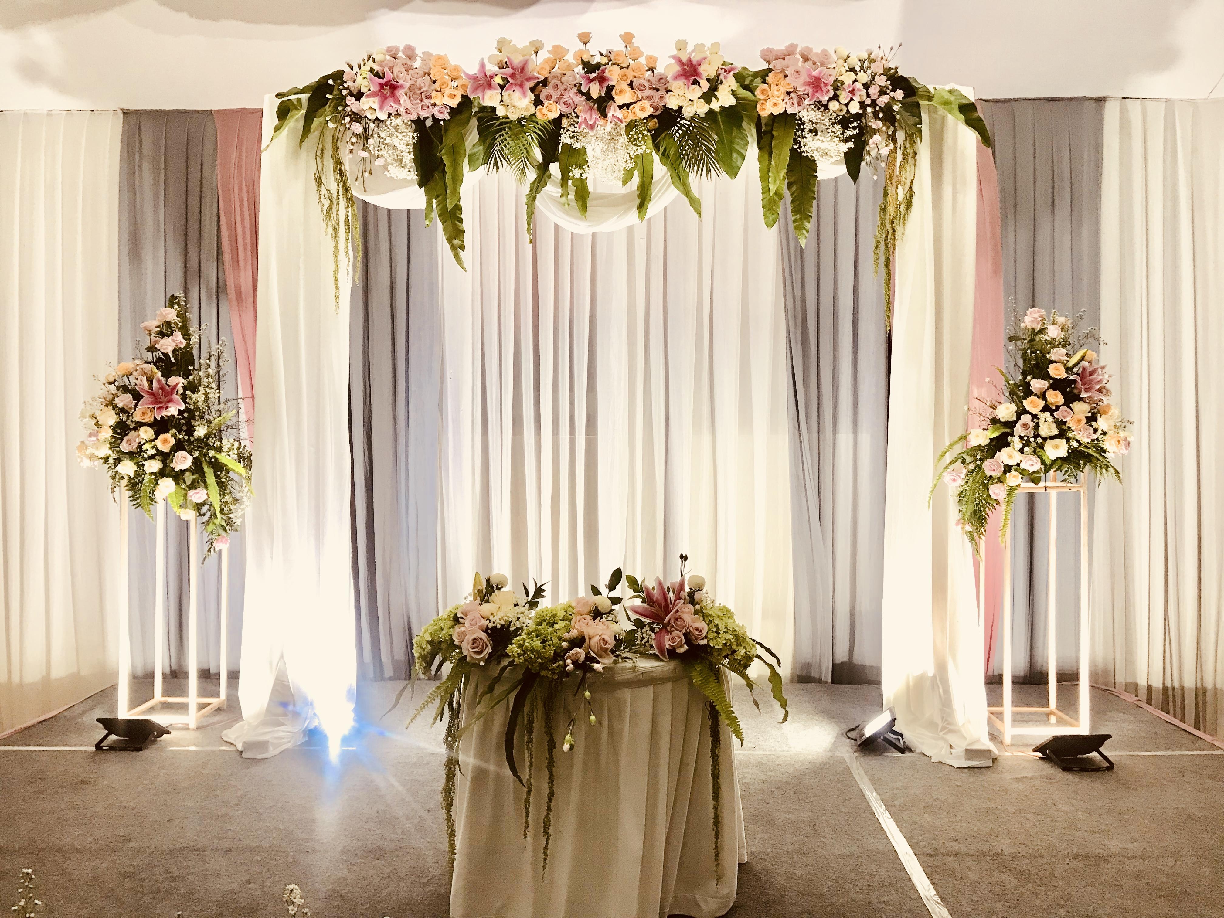 Mrs Purin Mr Toyo 25th Wedding Anniversary By Cassia Decoration