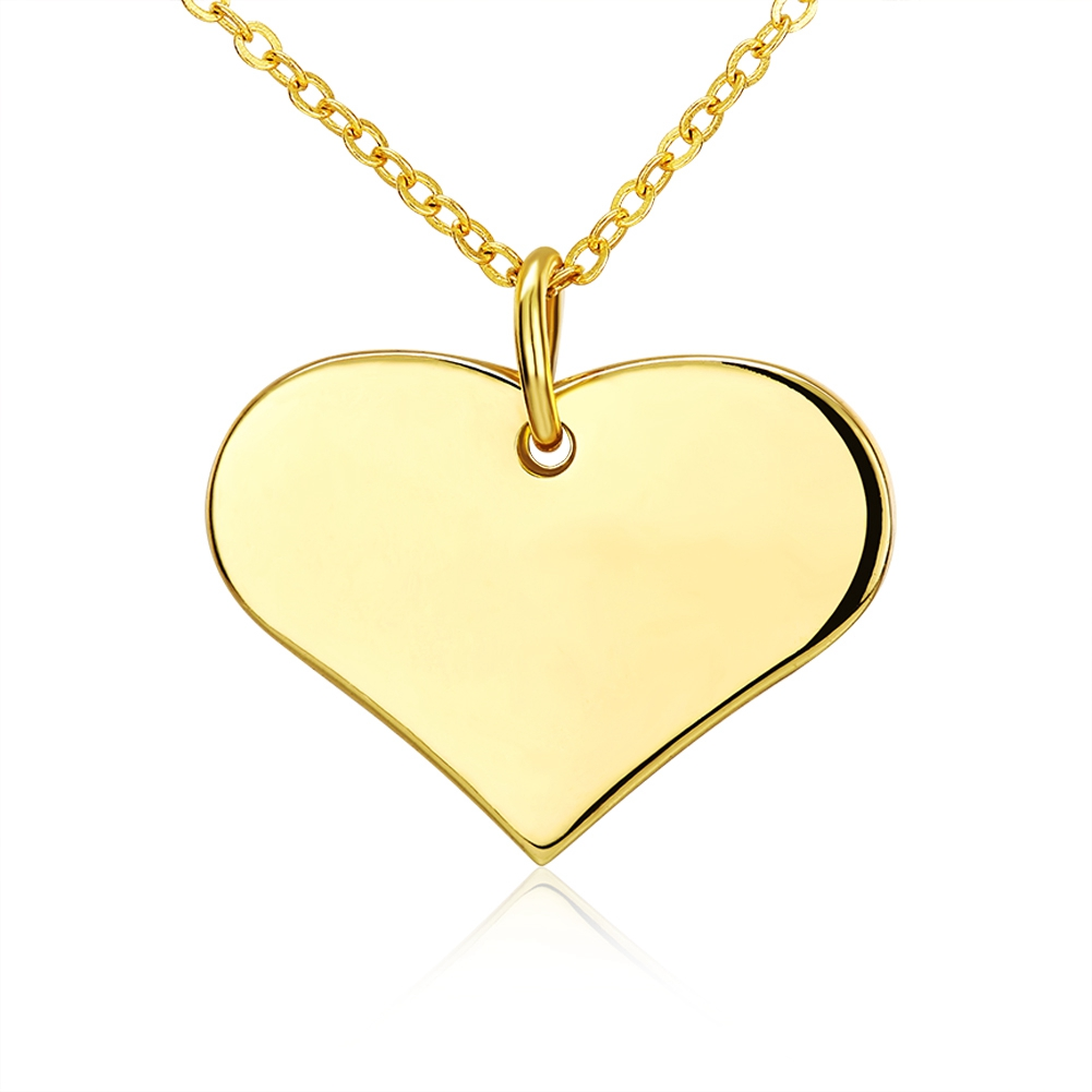 Tiaria 18k Solid Golden Heart By Kalung Love Happiness