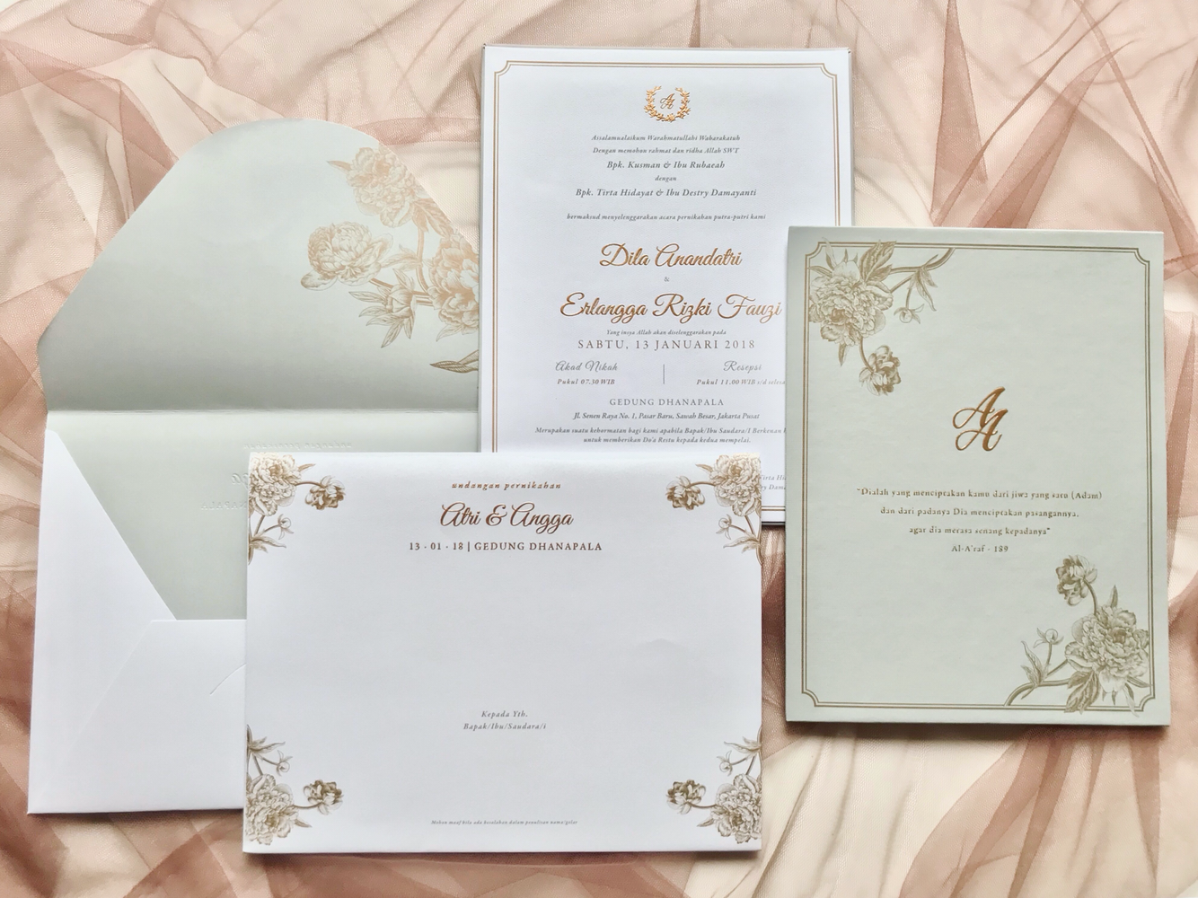 Directory of wedding invitations vendors in jakarta bridestory stopboris Images