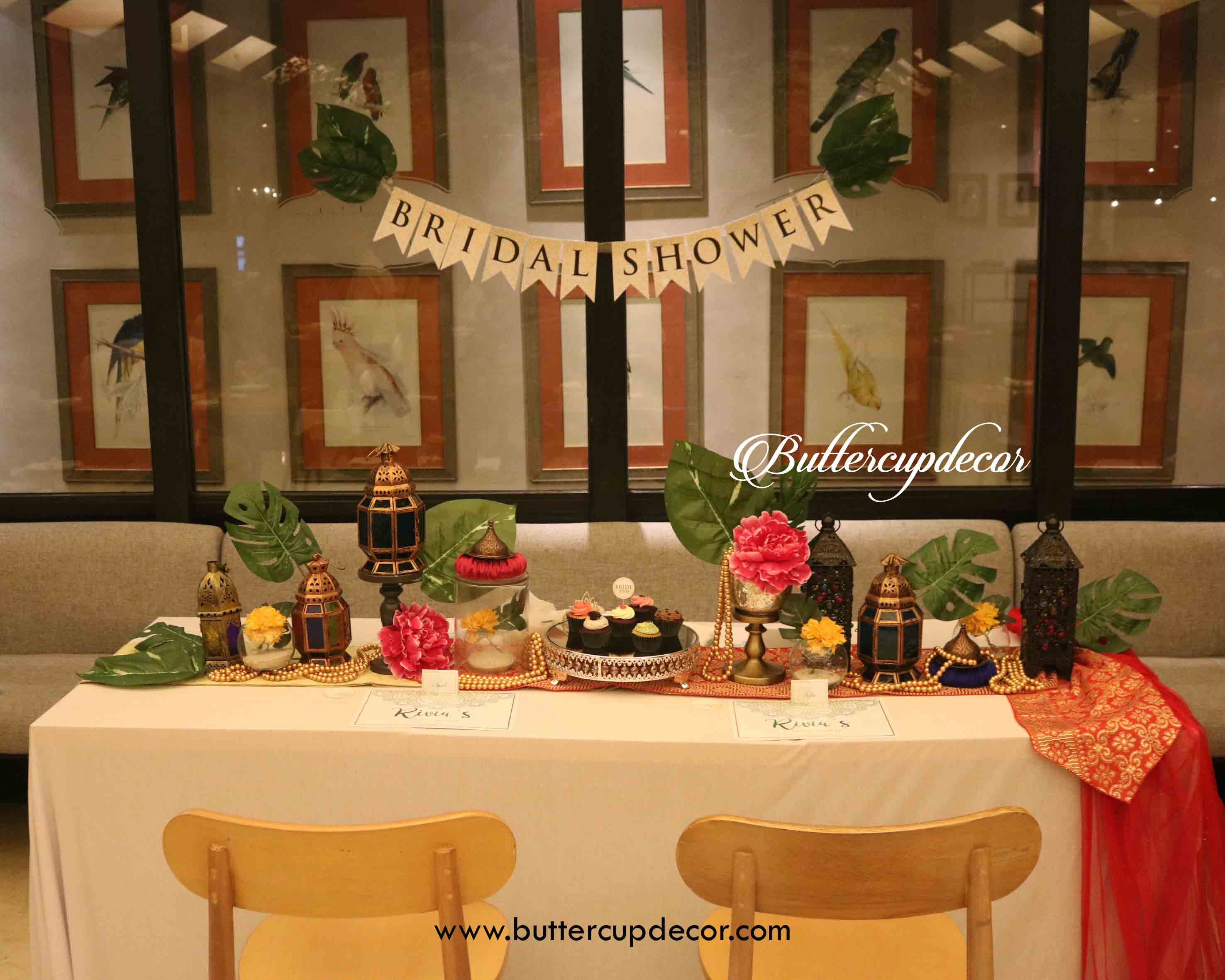 Themed Bridal Shower By Buttercup Decoration Bridestory Com