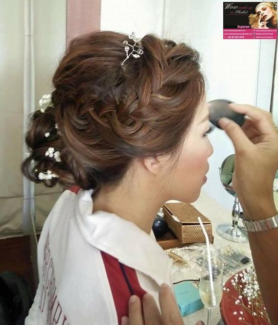 Wow Make Up In Phuket Wedding Hair Makeup In Phuket