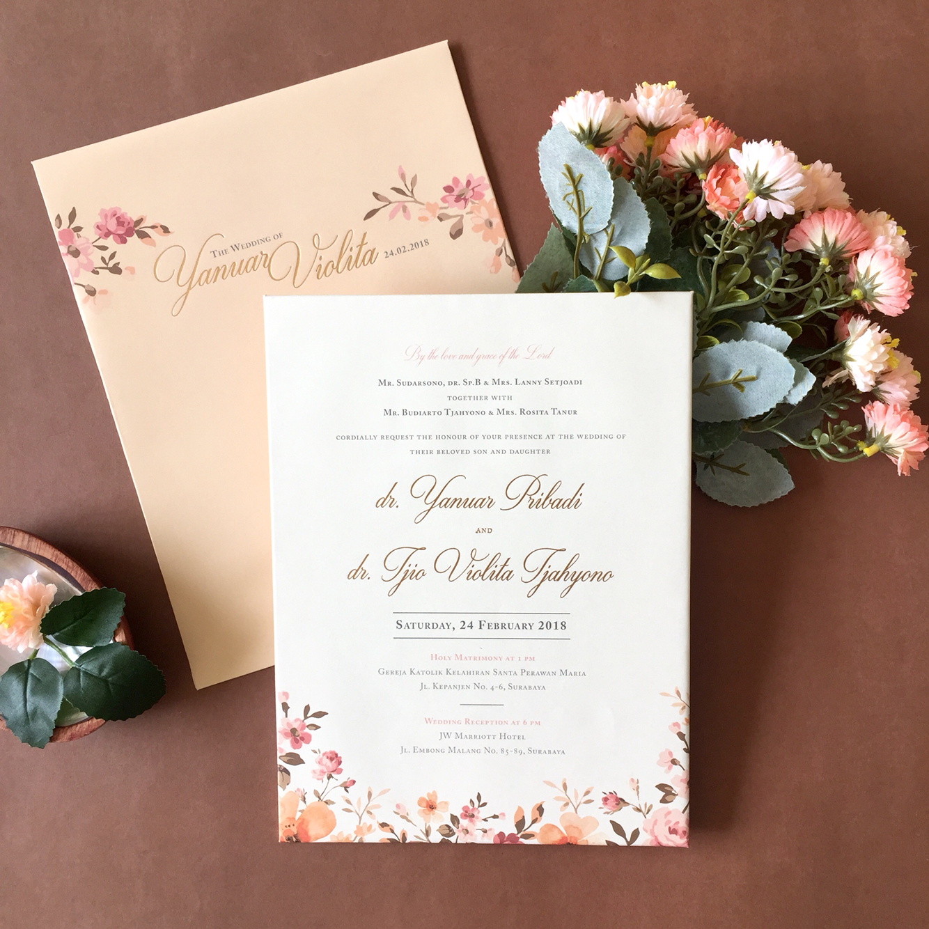 Dot line designs wedding invitations in surabaya bridestory stopboris Gallery