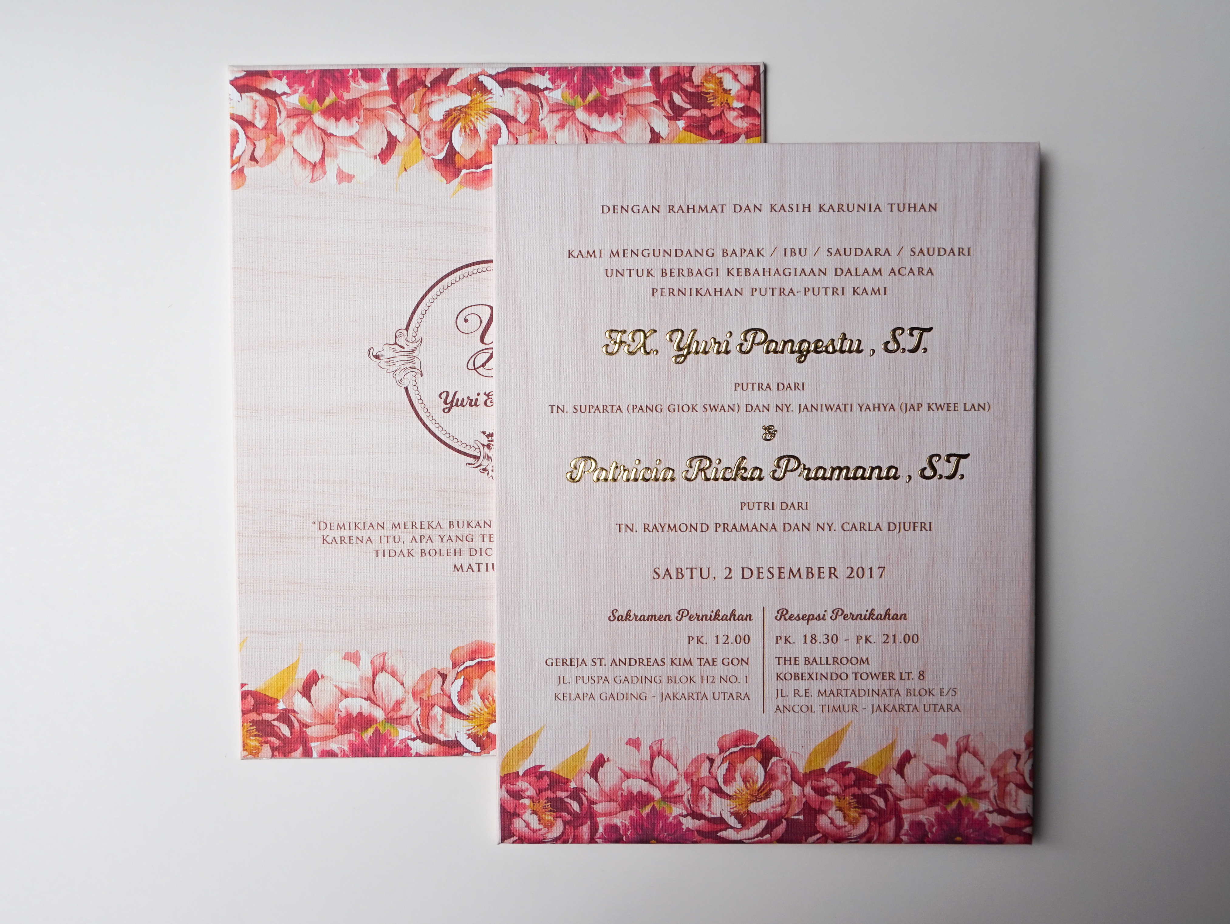 Bubble cards wedding invitations in jakarta bridestory stopboris Image collections