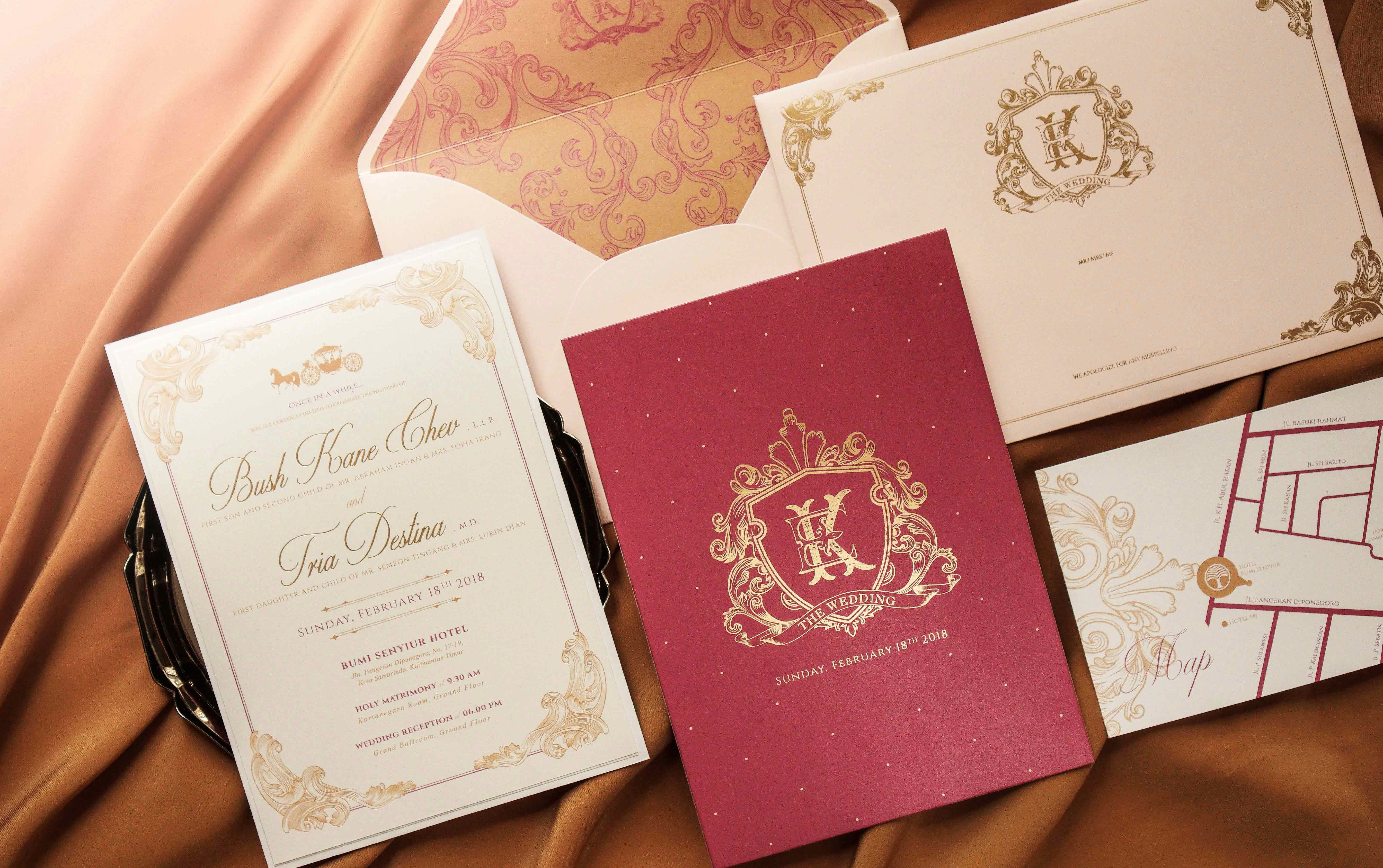 Memento Idea | Wedding Invitations in Jakarta | Bridestory.com