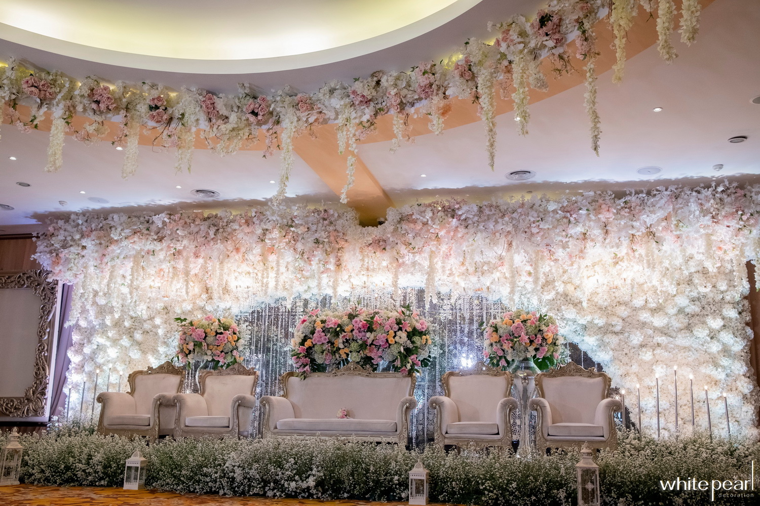White Pearl Decoration | Wedding Decoration & Lighting in Jakarta ...