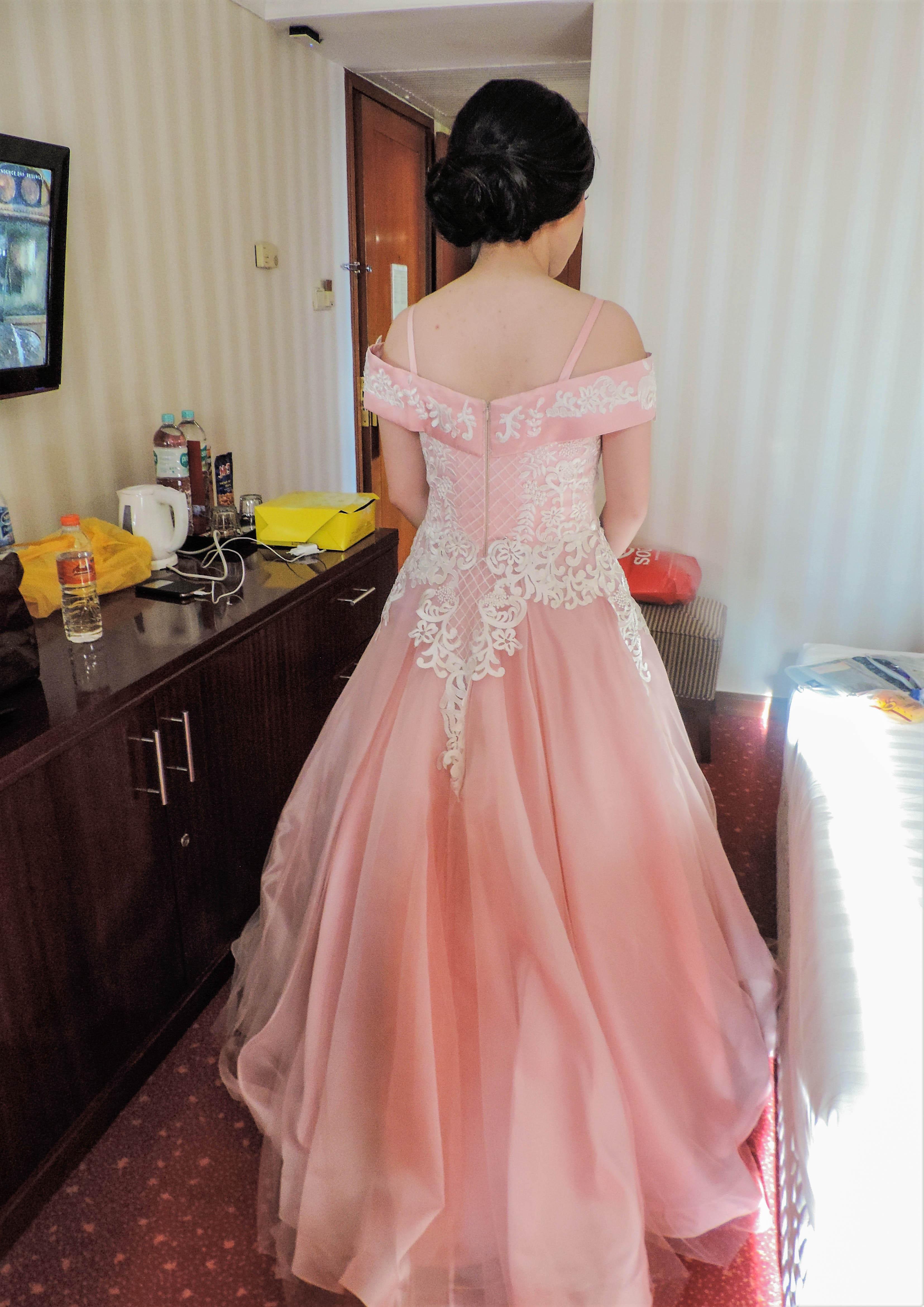 Fantástico Vestido De Novia De Carolina Del Norte Ornamento ...