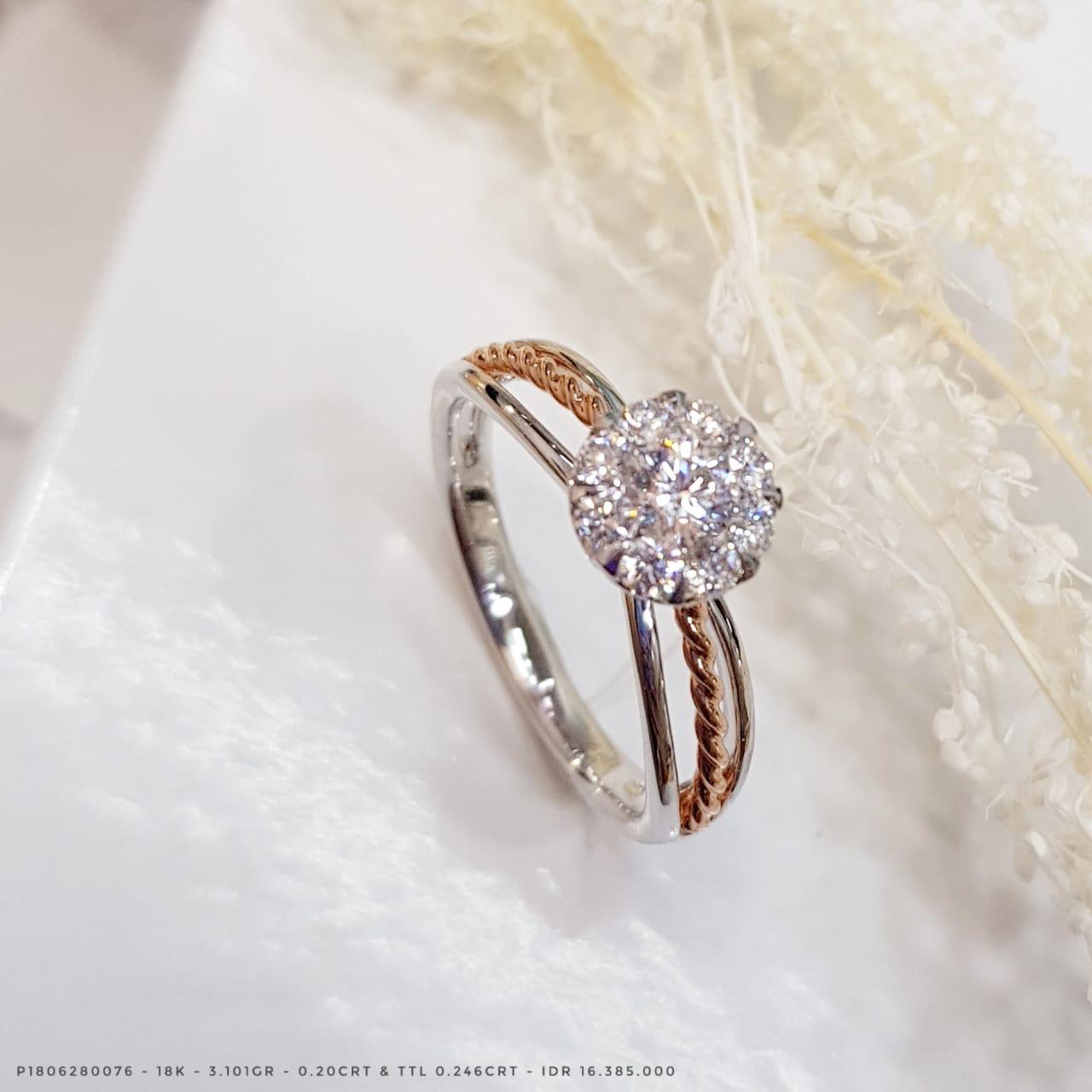 Calista Collection By Endless Jewelry Tiaria Aerial Bracelet 3 18 18k Gold Perhiasan Gelang Emas Berlian