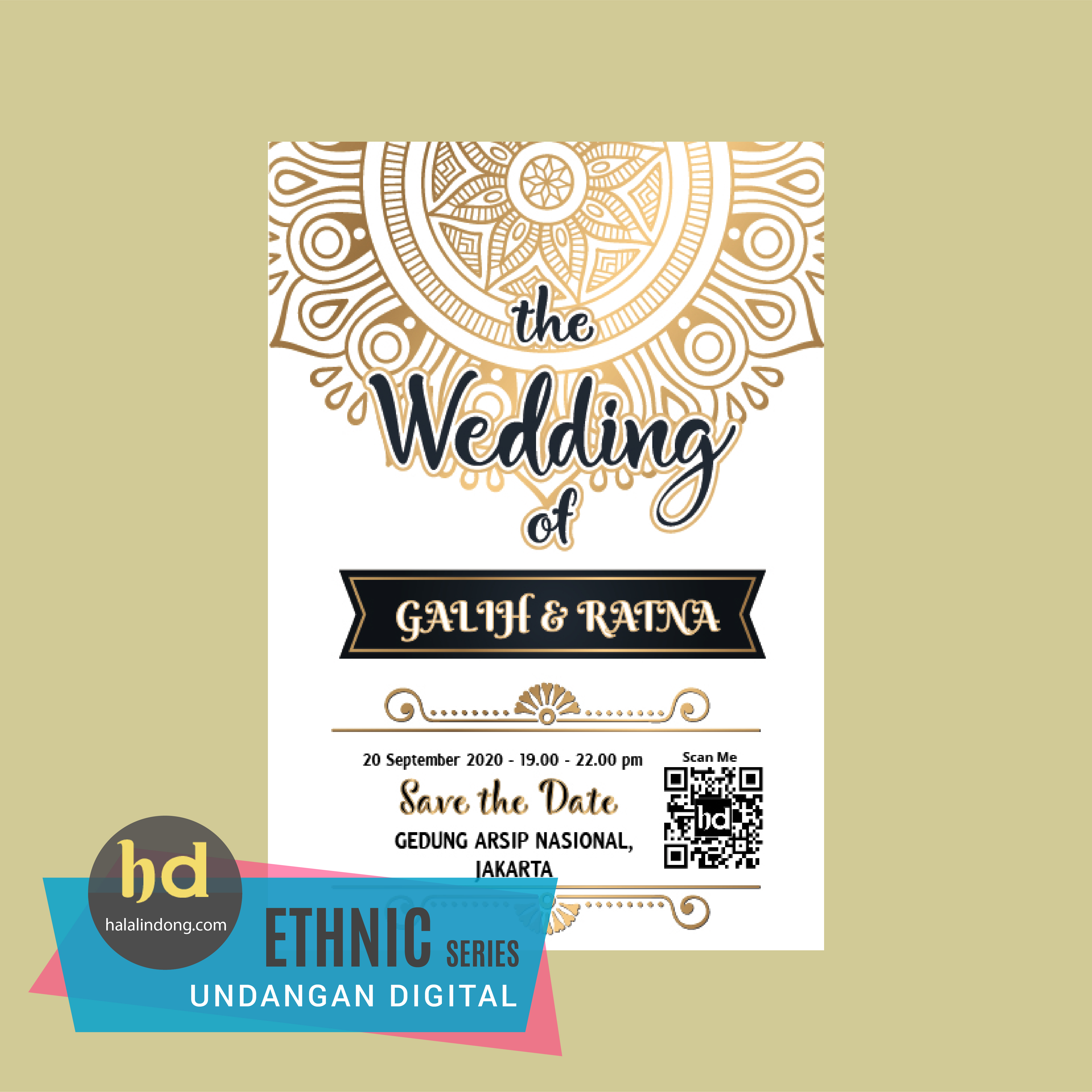Undangan Digital By Halalindong Pernikahan  Jakarta A 02