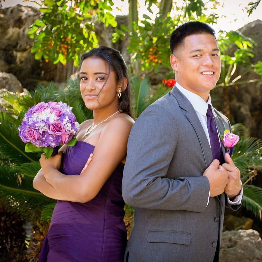 Purple Wedding By My Beauty By Glo Bridestory Com