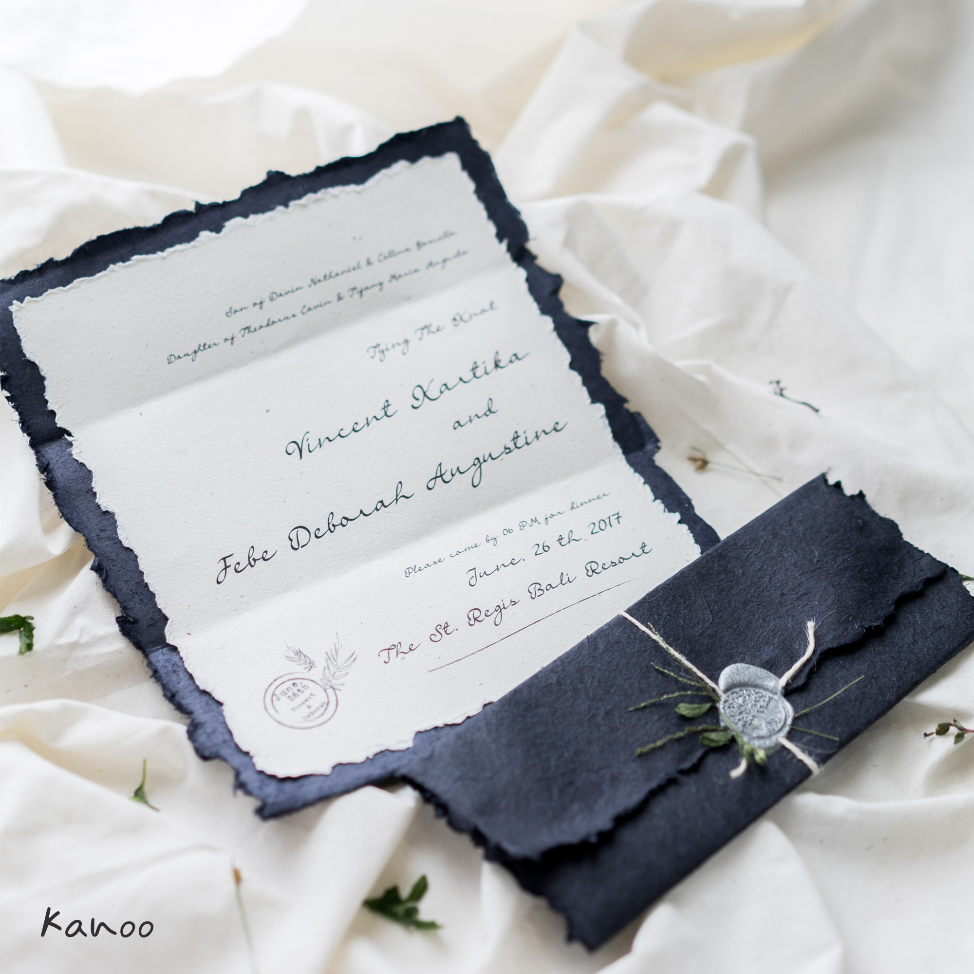 Fancy Recycled Paper Invitations Wedding Ideas - Invitations Design ...
