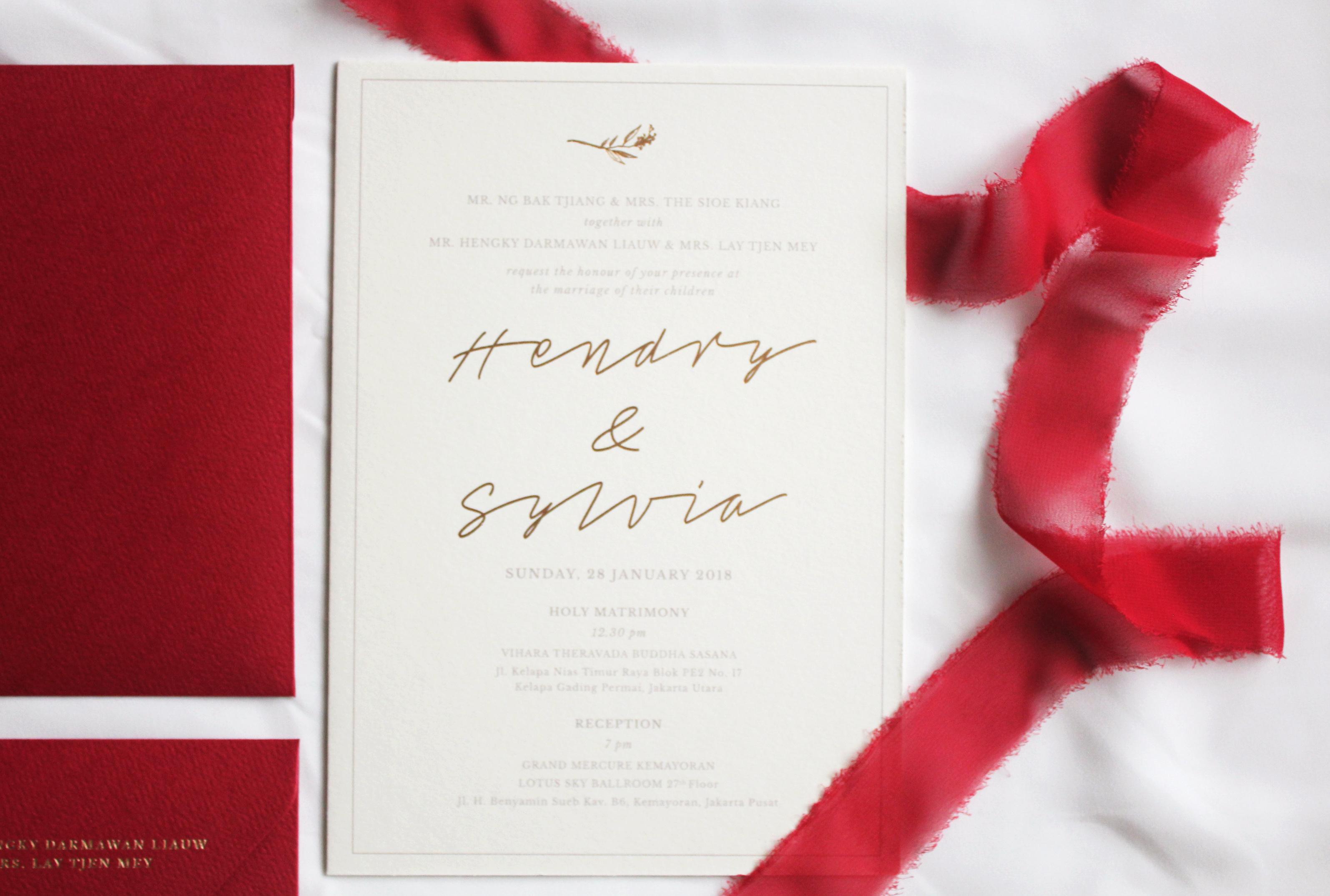 The Wedding of Hendry & Sylvia by Mo & Nemone | Bridestory.com