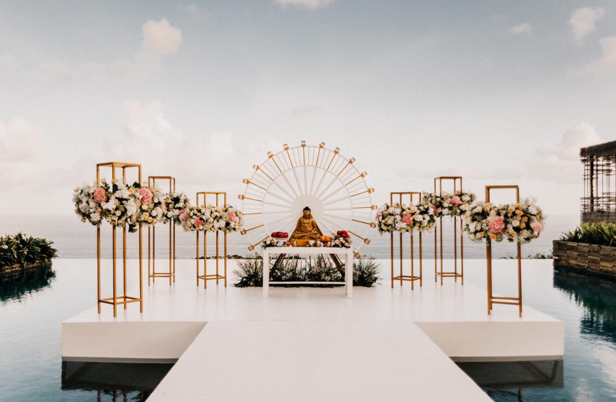 The Wedding Of Michelle And Sunggoro By Alila Villas Uluwatu Bridestory Com