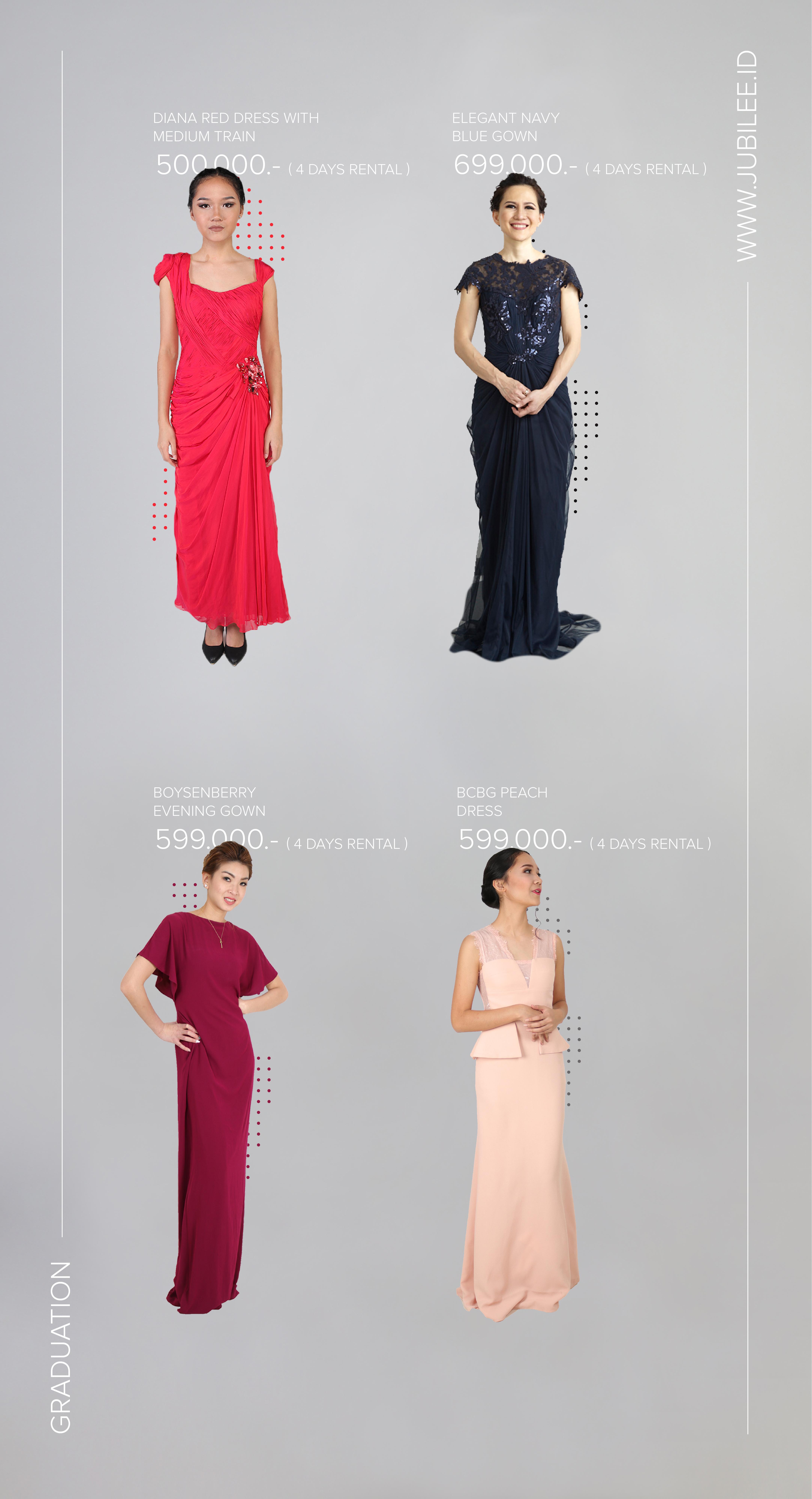 Jubilee Gown Rental | Wedding Dress & Attire in Jakarta | Bridestory.com
