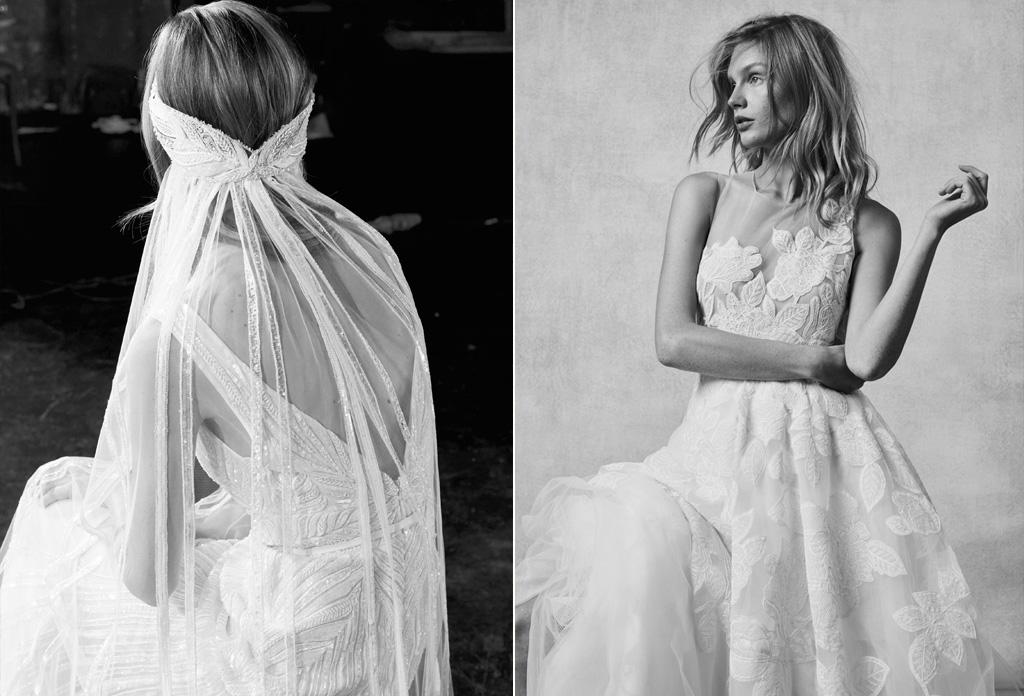 Wedding Dress Inspirations From Bridal Fashion Week Fall 2018