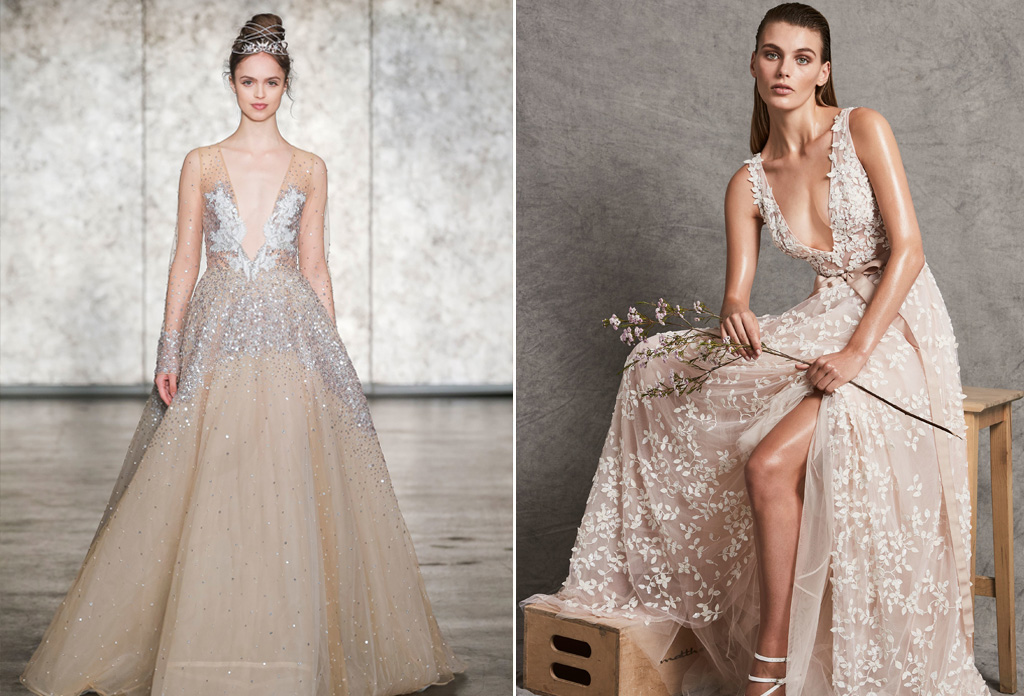 Wedding Dress Inspirations from Bridal Fashion Week Fall 2018 ...