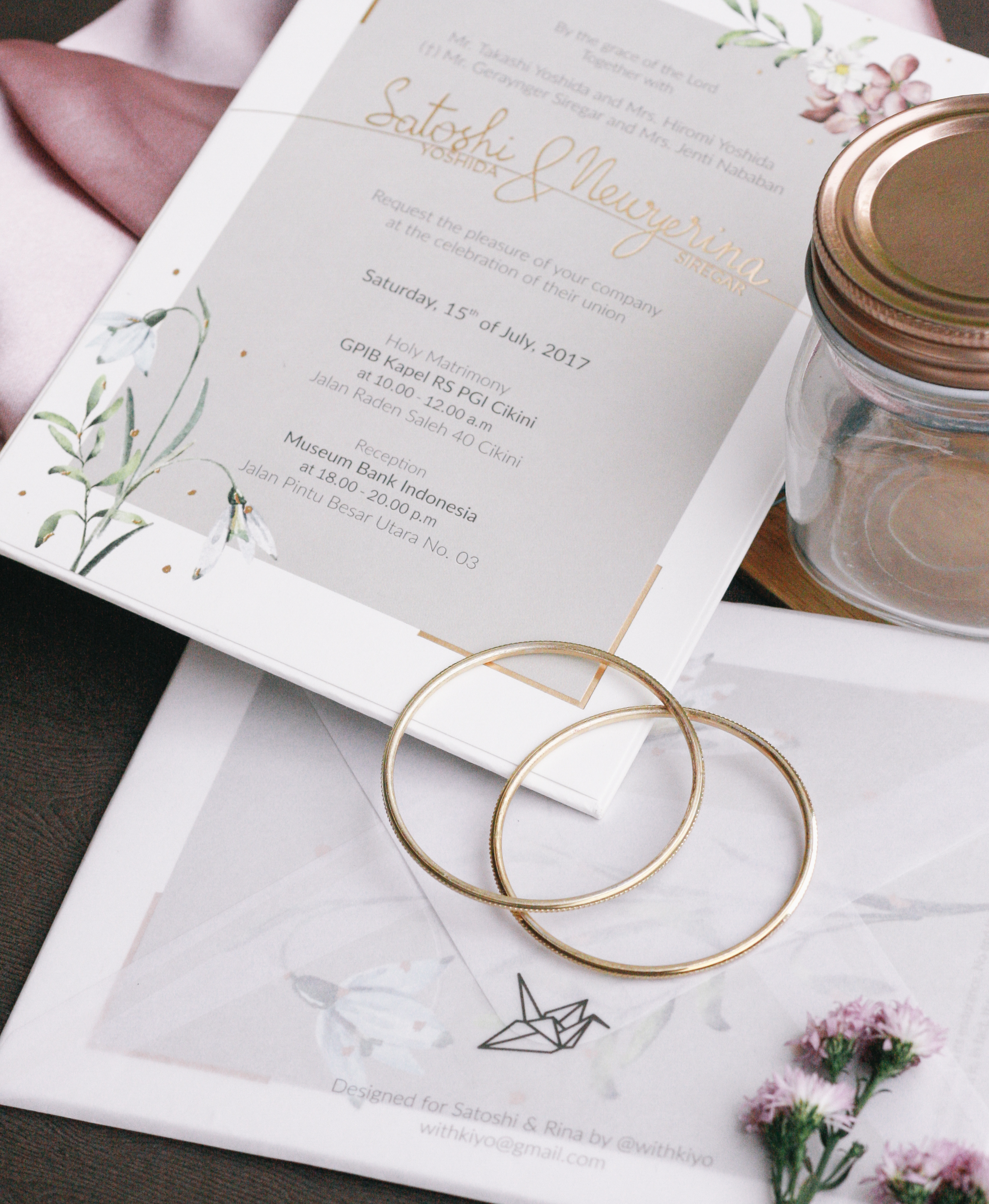 Kens collections wedding invitations in jakarta bridestory stopboris Gallery