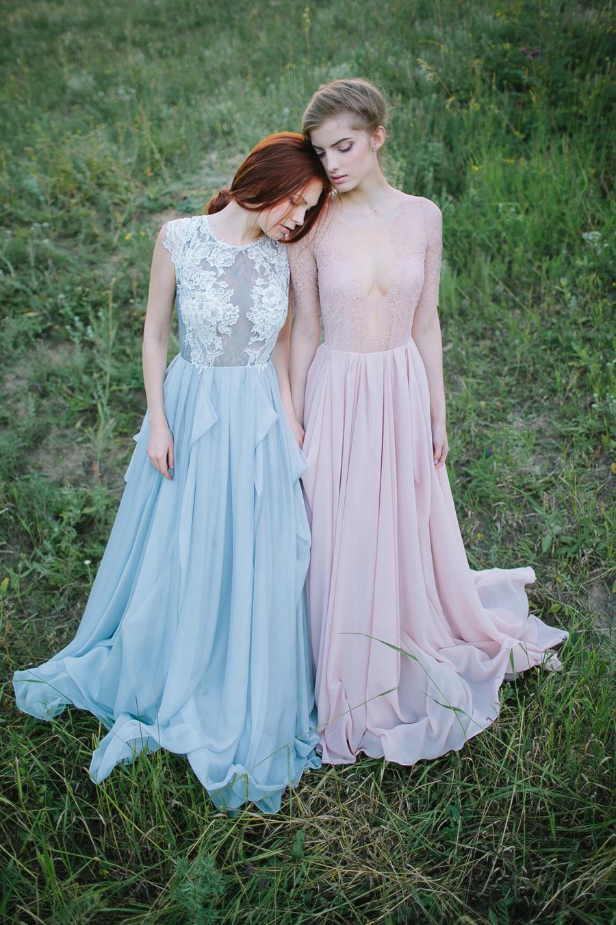Beautiful Grey Wedding Gown Photo - All Wedding Dresses ...