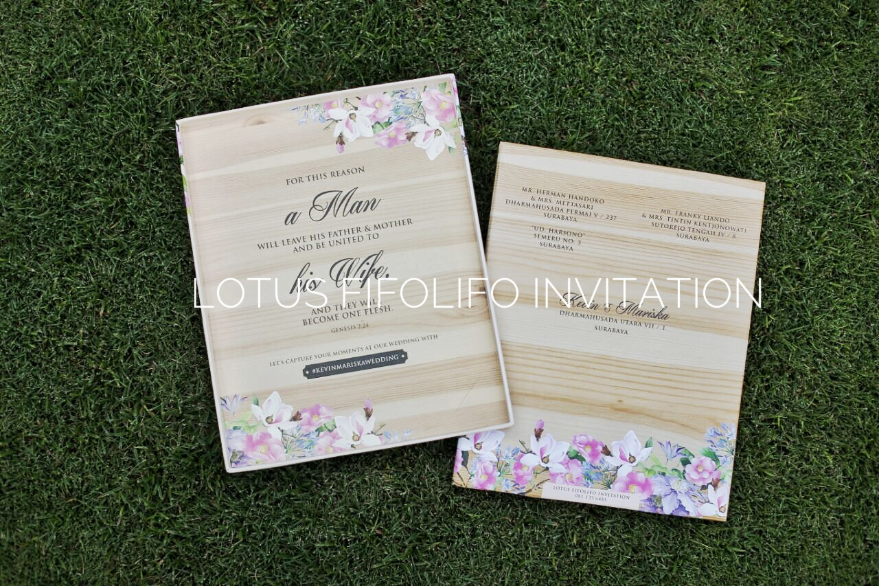 Lotus fifolifo invitation wedding invitations in surabaya lotus fifolifo invitation wedding invitations in surabaya bridestory stopboris Gallery