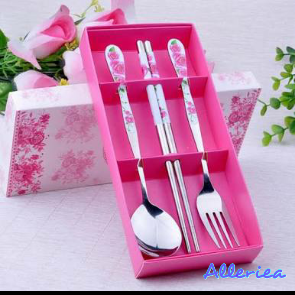 spoon fork and chopstick by Alleriea Wedding Gifts | Bridestory.com