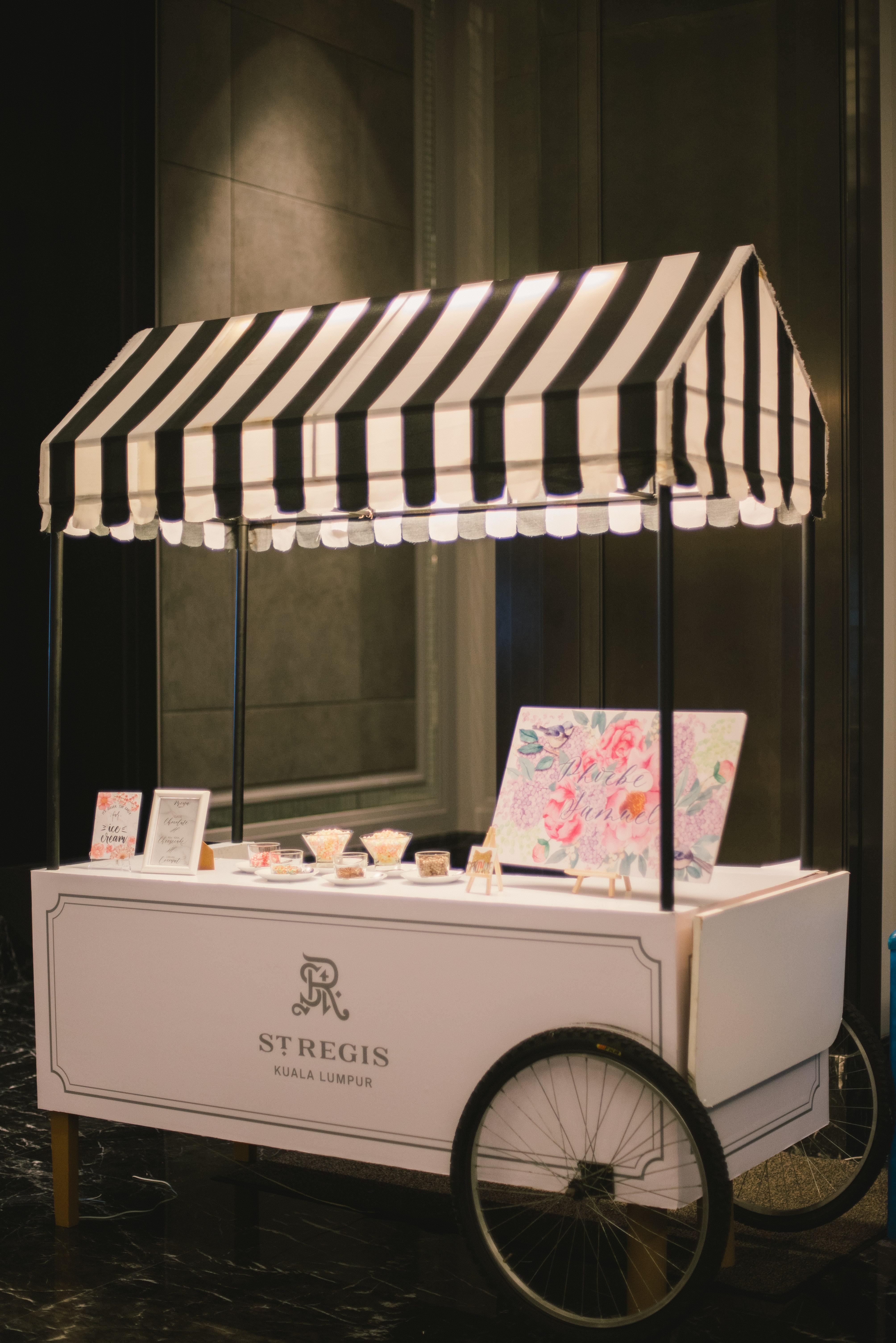 Wedding Events Ice Cream Cart Amp Ice Cream By Gold Gild