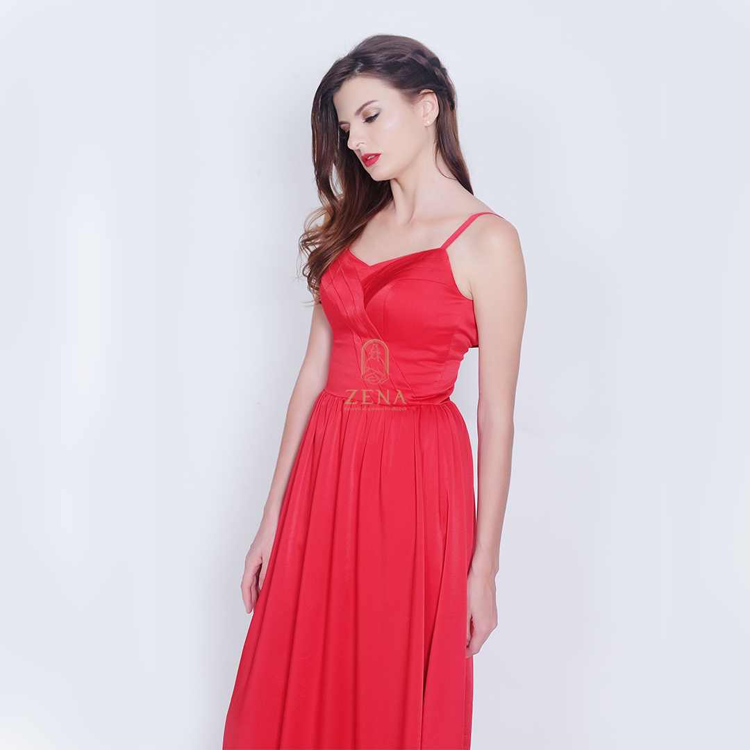 Red Maxi Dresses For Weddings Raveitsafe