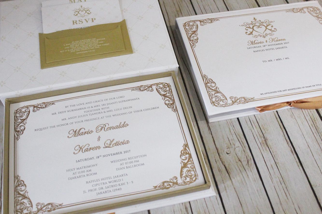 Signature design wedding invitations in jakarta bridestory stopboris Images