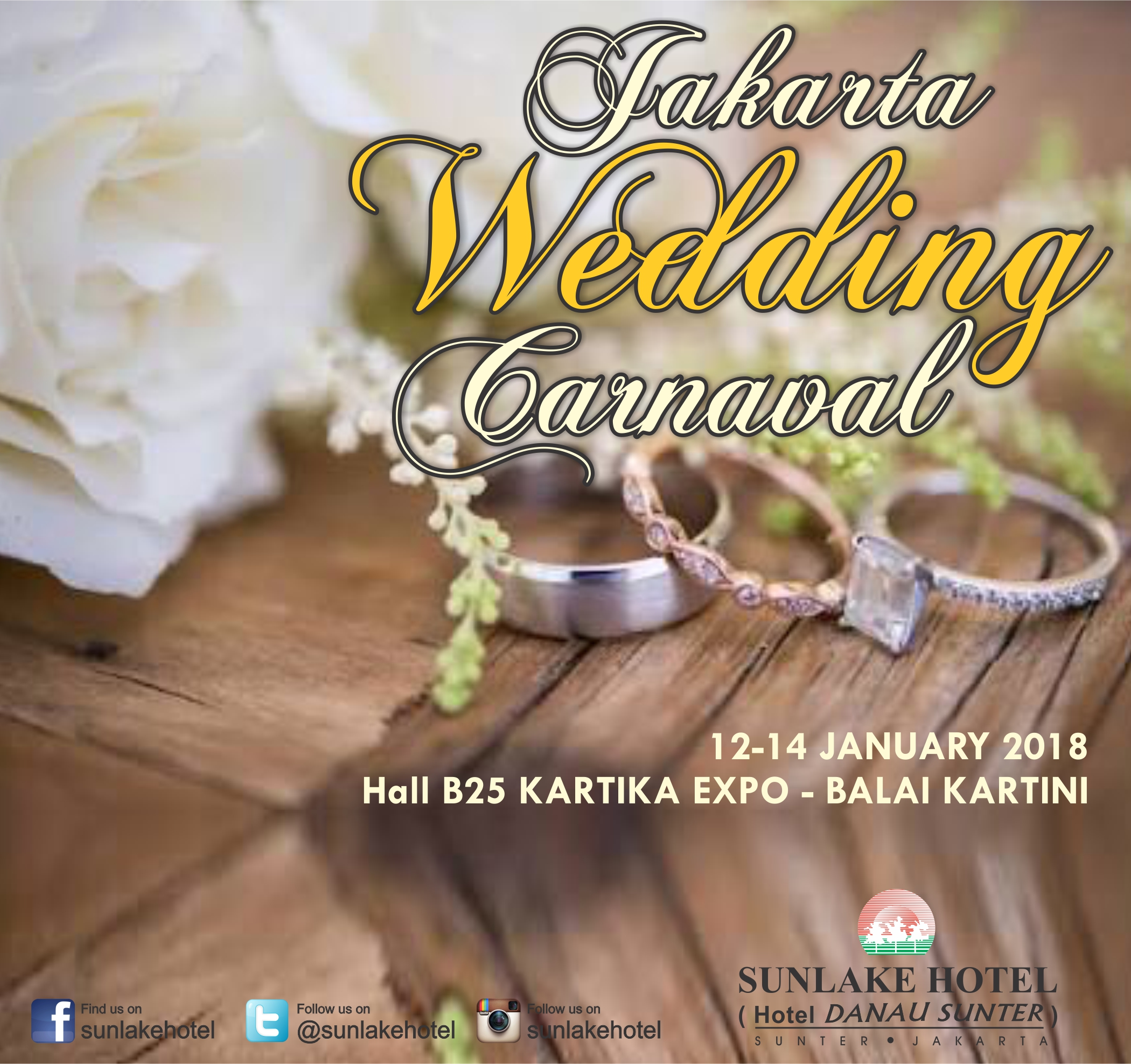 Hotel Sunlake Wedding Venue in Jakarta