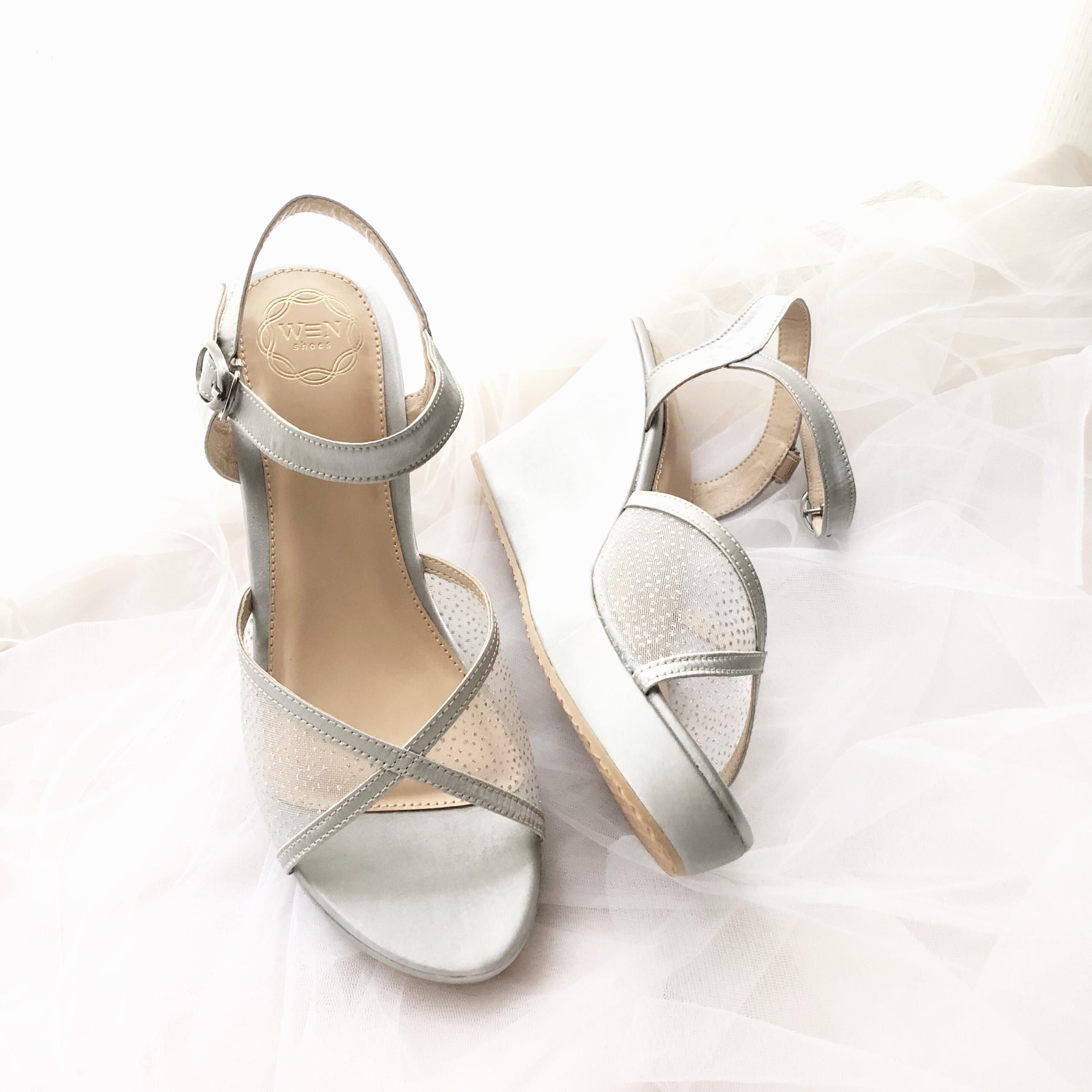 b4ea424f0be Pointy heels  wedges  flat shoes  platform heels by Wen Custom   Bridal  Shoes