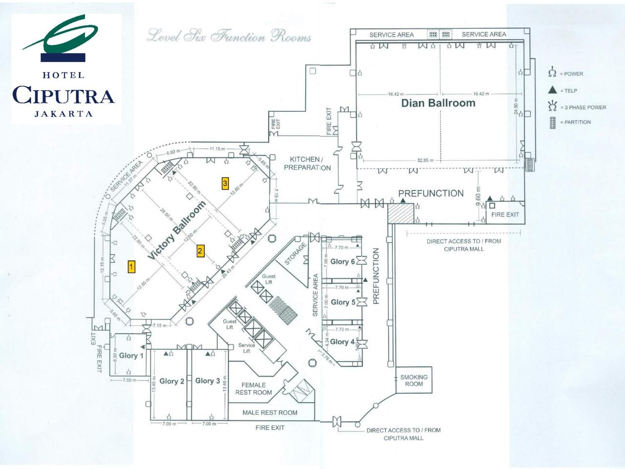 Our Venue Hotel Ciputra Jakarta By Alissha Bride Bridestory Com