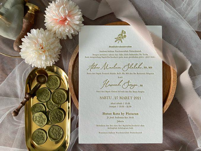 12 Vendor Undangan Pernikahan Paling Populer di Jakarta dan Bandung Image 8