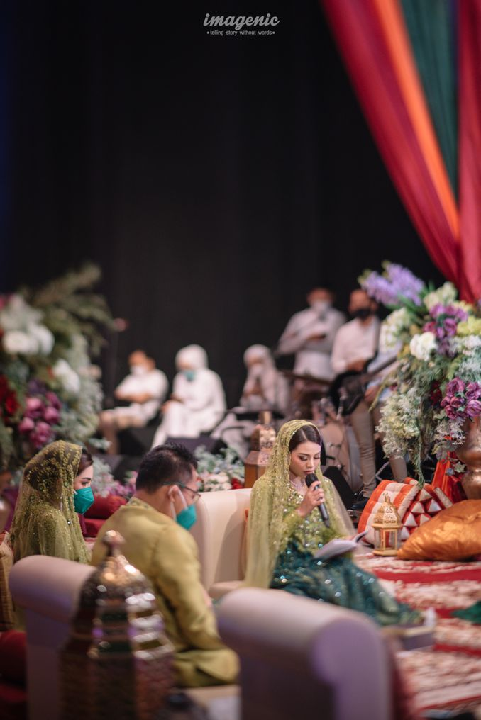 Momen Rangkaian Acara Menjelang Pernikahan Atta & Aurel: Prosesi Pengajian dan Malam Henna Image 8