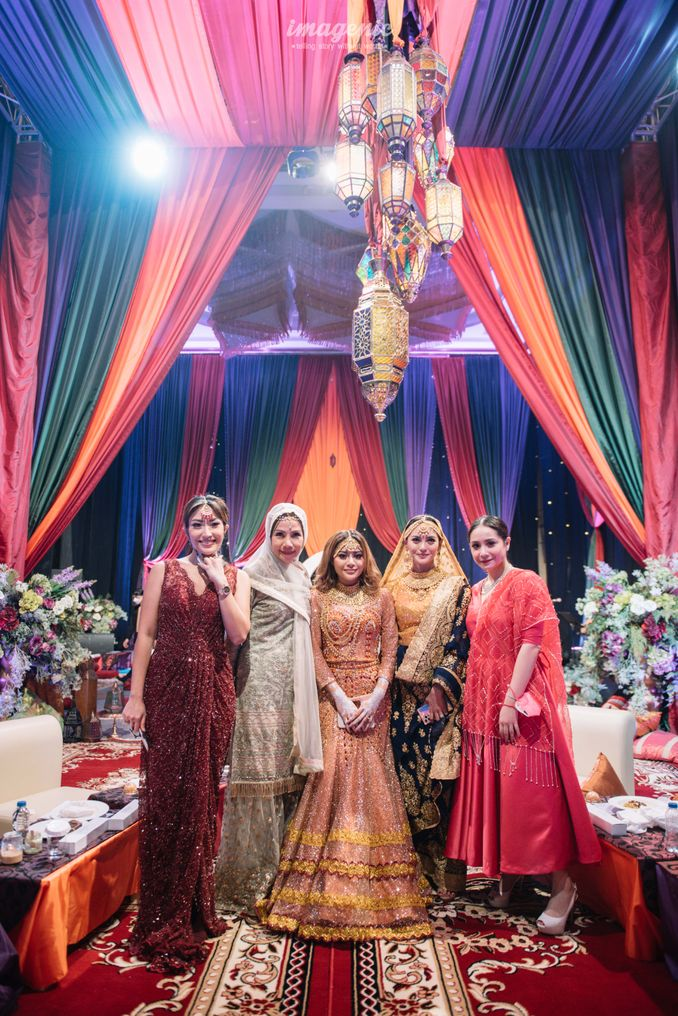 Momen Rangkaian Acara Menjelang Pernikahan Atta & Aurel: Prosesi Pengajian dan Malam Henna Image 19