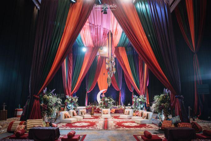 Momen Rangkaian Acara Menjelang Pernikahan Atta & Aurel: Prosesi Pengajian dan Malam Henna Image 14
