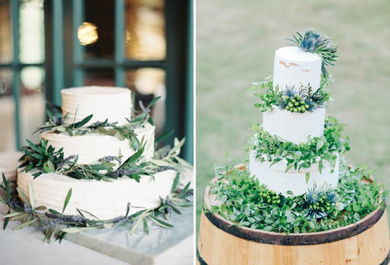 Wedding Ideas Blog: 15 Mouthwatering Green Botanical Wedding Cake Ideas