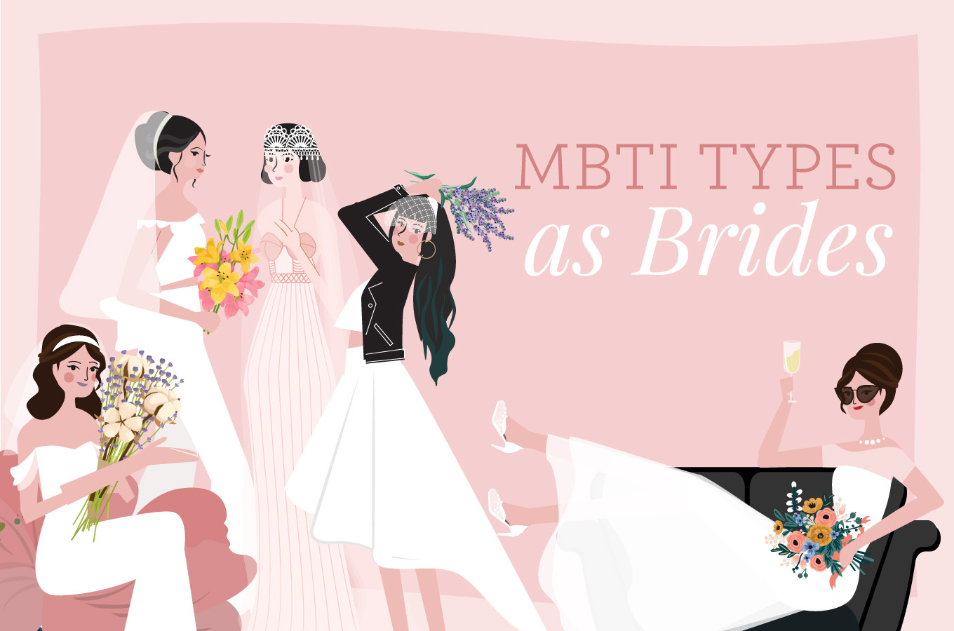 What Kind of Bride Are You Based on Your Myers-Briggs Personality ...