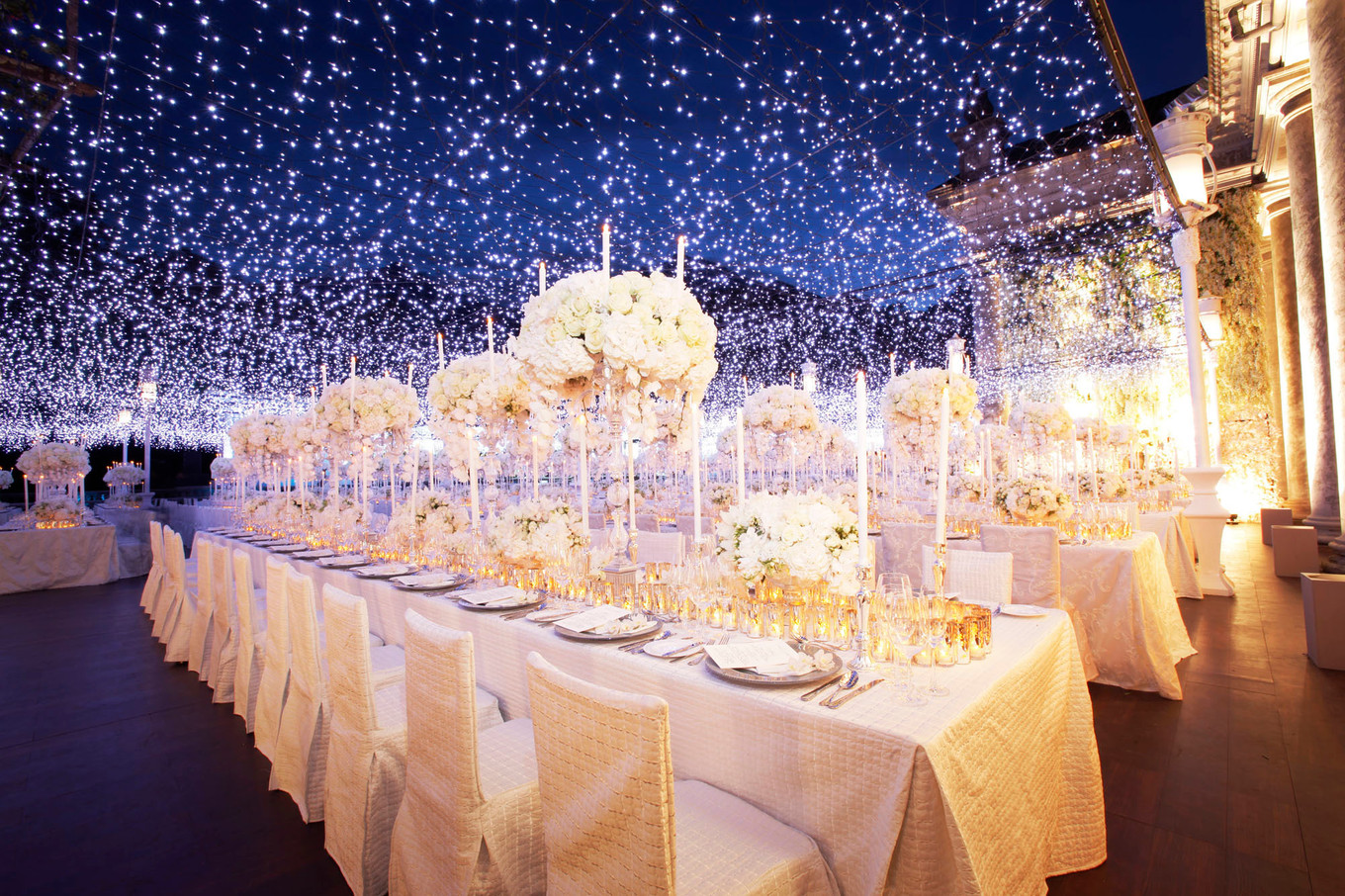 decorative lights for weddings 16 enchanting overhead decoration ideas for your wedding 3458