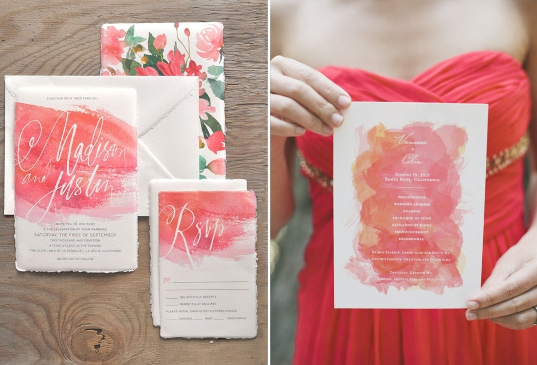 Pop of Color: Coral - Bridestory Blog