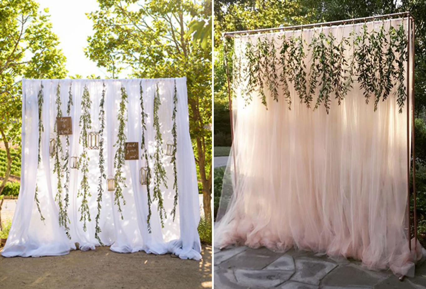 12 Creative and Affordable DIY Wedding Photo Booth Ideas ...