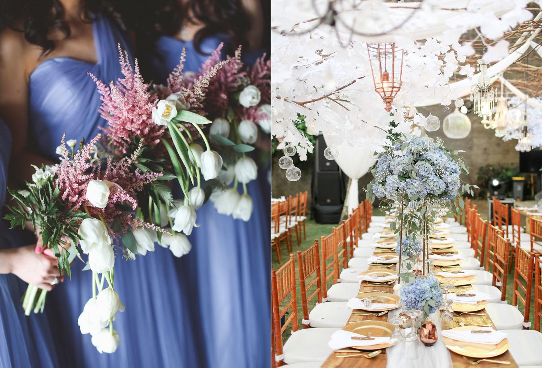 ec37a104049 An Elegant Rustic Wedding in Bali With Shades of Serenity Blue