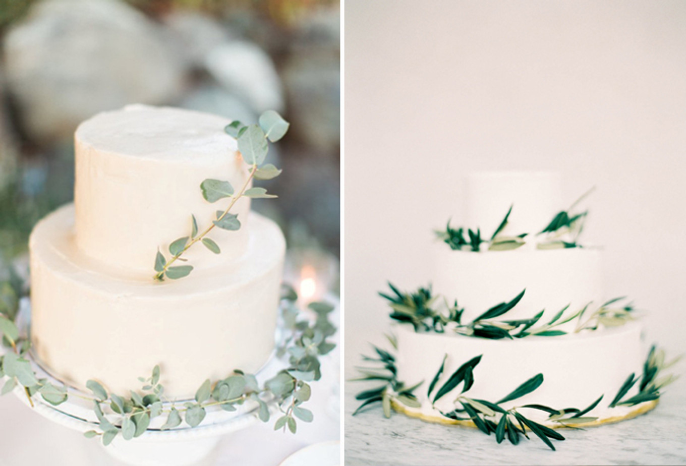 15 Mouthwatering Green Botanical Wedding Cake Ideas - Bridestory Blog
