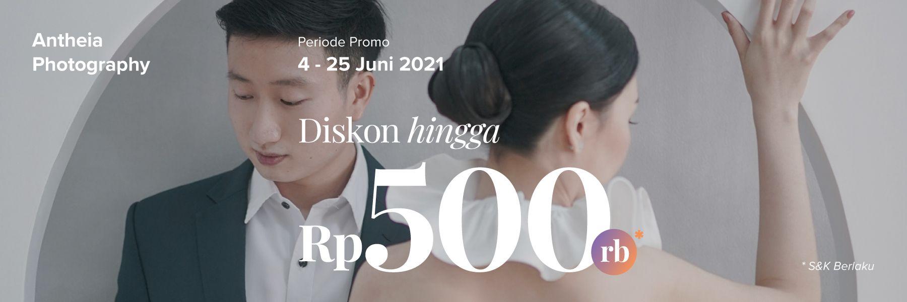 Promo Photography Diskon Rp 500,000 di Antheia Photography!