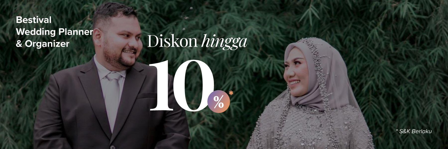 Hemat Hingga 1 Juta Rupiah Hanya di Bestival Wedding Planner