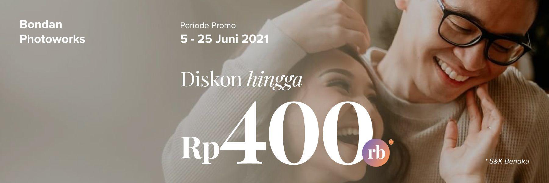 Promo Photography. Diskon Prewedding 5% di Bondan Photoworks