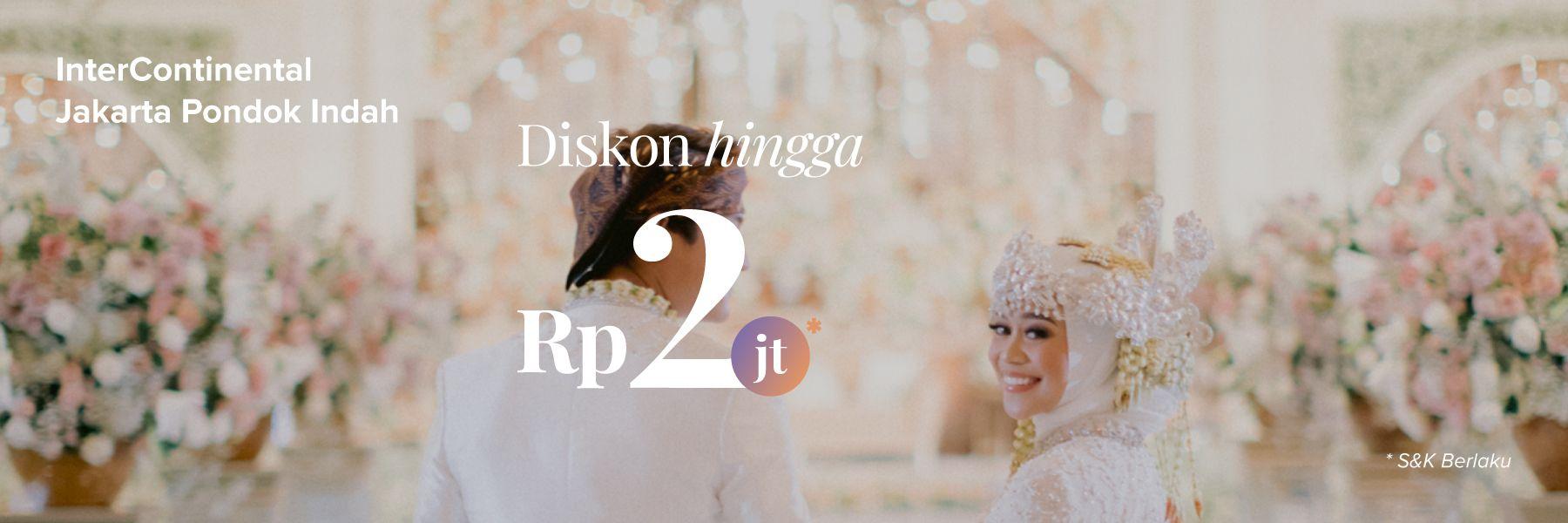 Diskon s.d Rp 2 Juta untuk Paket di InterContinental Jakarta