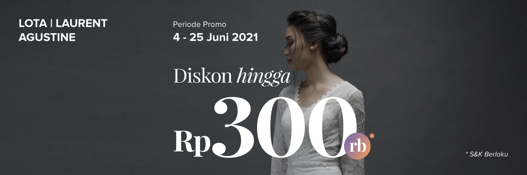 Diskon Gaun Hingga Rp 300.000 di LOTA | LAURENT AGUSTINE
