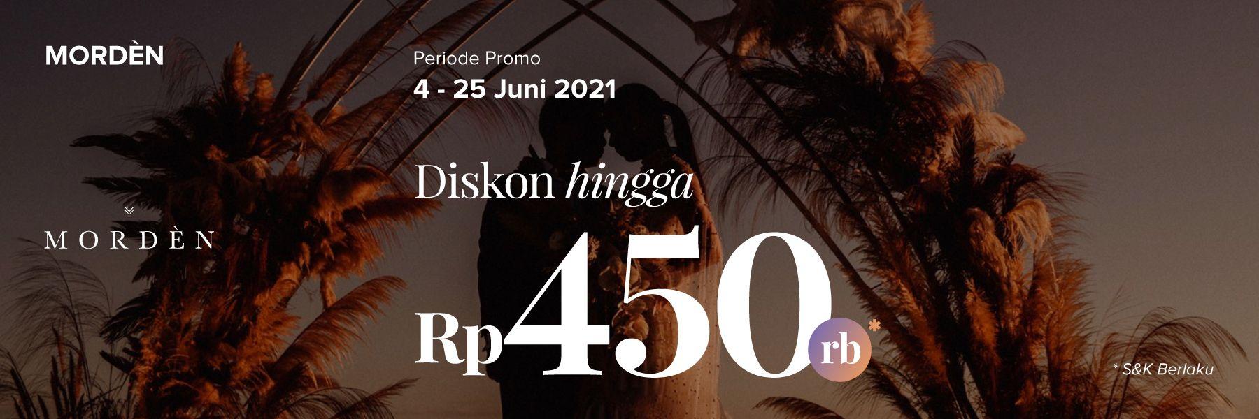Promo Photography. Diskon Rp 450,000 hanya di Morden!