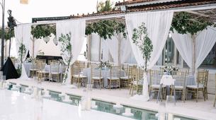 Dinner Reception Decoration (Round Table) - 250 pax